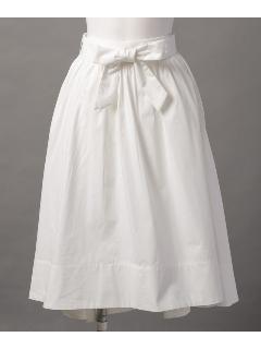 ウエストリボン ロングスカート
