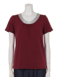 アビガイル付丸首半袖Tシャツ