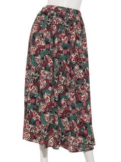 タックギャザーPtロングスカート