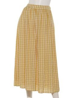 タックギャザーボリュームスカート