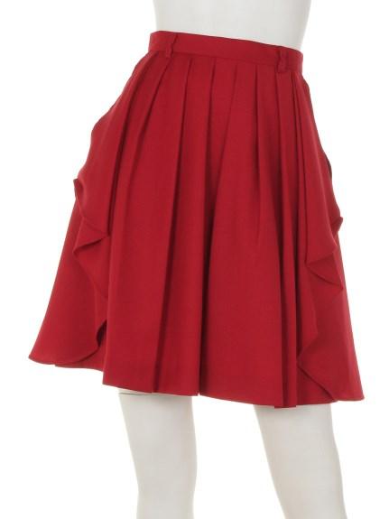 SWINGLE (スウィングル) スカート 赤