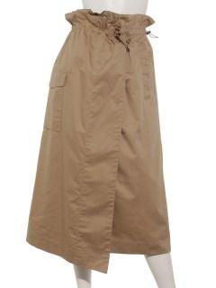 巻き風タイトスカート