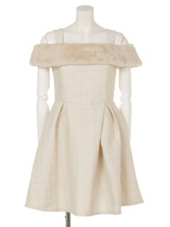 2wayタックドレス