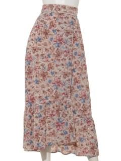 Oノスタルジックフラワースカート