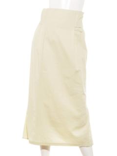 バックリボンナロースカート