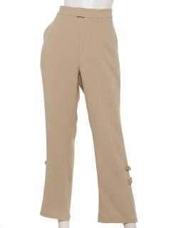 裾リボン付パンツ