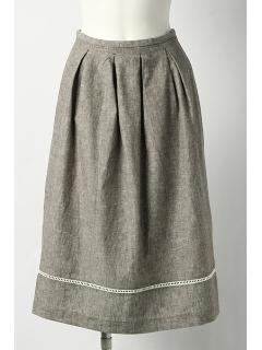 涼しげなスカート