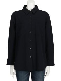 フロントポケットシャツ