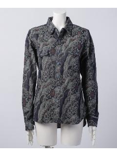 デニムゴブランウエスタンシャツ