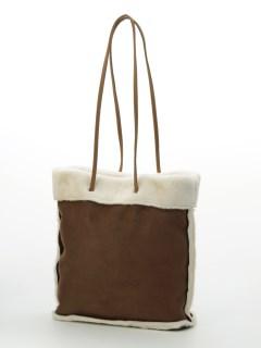 aureaフェイクスエードボアバッグ
