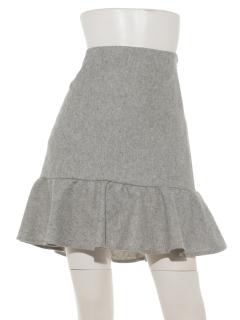 aureaミディフレアースカート