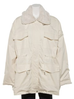 ボア胸ポケットコート
