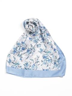 大判小花柄スカーフ