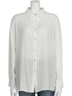 袖タックシャツ