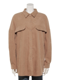 胸ポケットビッグシャツ