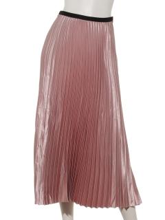 ラメラメプリーツスカート