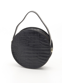 円形ハンドバッグ