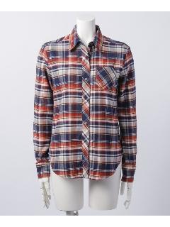 【Trois Berry】 ベーシックチェックシャツ