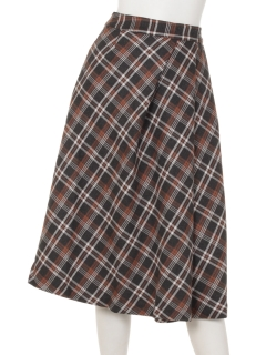 【Malianipink】MP上品シルエットのフレアースカート