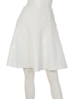【Rejoove】ふくれジャガードの大人サーキュラースカート