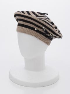 【MALIANI】リボンとビーズの大人キュートな帽子