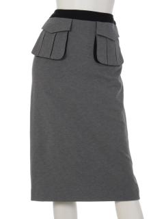 【Rejoove】RJVミリタリーポケットのペンシルスカート