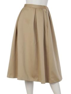 【Rejoove】RJVBOXタックのミモレ丈スカート
