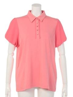 【Maliani Pink】フェミニンカットソーシャツ