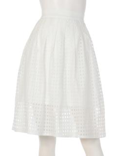 【arielme】格子柄レーススカート