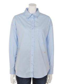 【Rejoove】RJVハチのワンポイント刺繍入りBIGシャツ