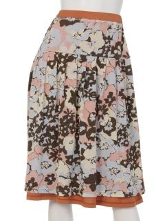 【MALIANI PINK LABEL】MPオシャレプリントのリバーシブルスカート
