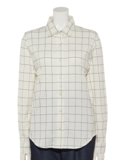 【Rejoove】ウインドペンチェックのカットソーシャツ