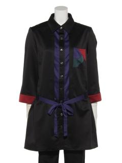 【PRIMA KASIH】ロゴポケットシャツチュニック