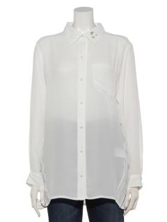 バックプリーツテクニックのシャツ