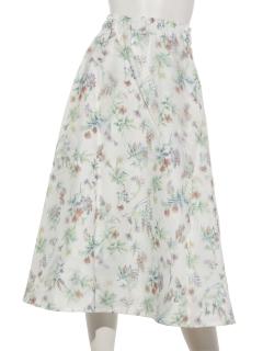 3Dプリントの華やかスカート