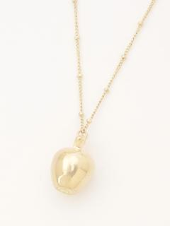 【arielme】アップル型ネックレス
