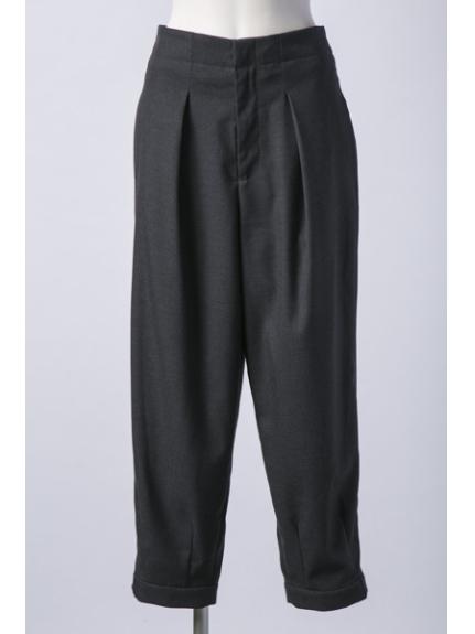 CAPRICIEUX LE'MAGE (カプリシューレマージュ) 裾ベルトユルテーパード グレー