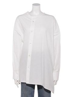ブロッキングアシメ2WAYシャツ