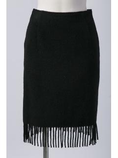 フリンジタイトスカート