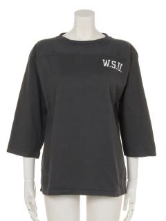 製品染メフットボールTシャツ