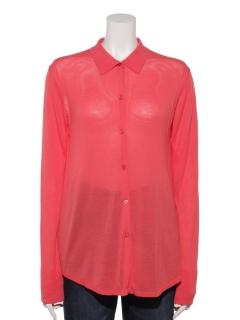 ニットロングシャツ