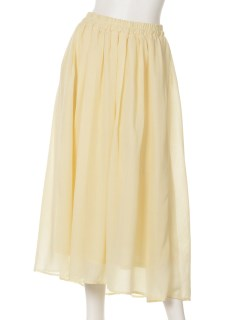 ・ボイルマキシギャザースカート