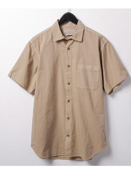 CIAOPANIC TYPY (チャオパニックティピー) ガーメントダイビッグシャツ ベージュ