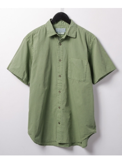 CIAOPANIC TYPY (チャオパニックティピー) ガーメントダイビッグシャツ カーキ