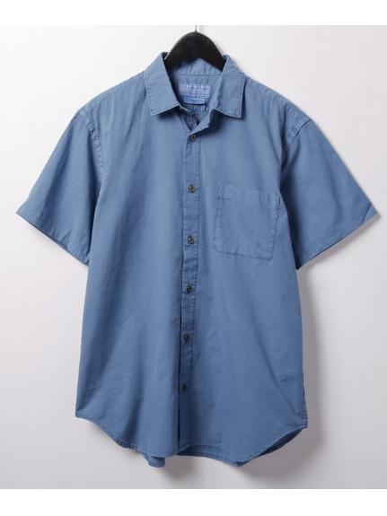 CIAOPANIC TYPY (チャオパニックティピー) ガーメントダイビッグシャツ ネイビー