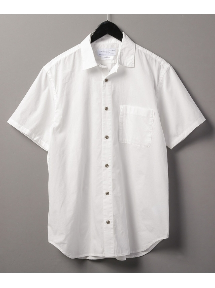 CIAOPANIC TYPY (チャオパニックティピー) ガーメントダイビッグシャツ ホワイト