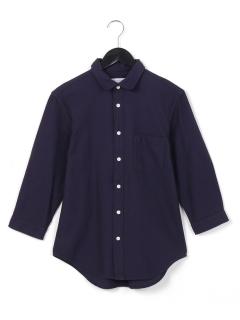 ・カラミ織リ2ウェイカラーシャツ