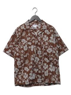 OSOROレトロフラワーシャツ