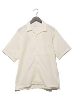 パナマオリオープンカラーシャツ
