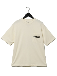 FAMIMACAFEバックプリントポケットTee